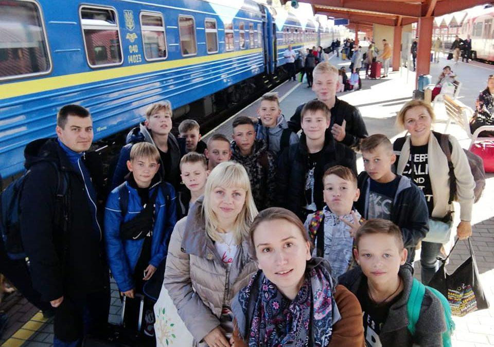 Przyjazd grupy z Odessy do Polski
